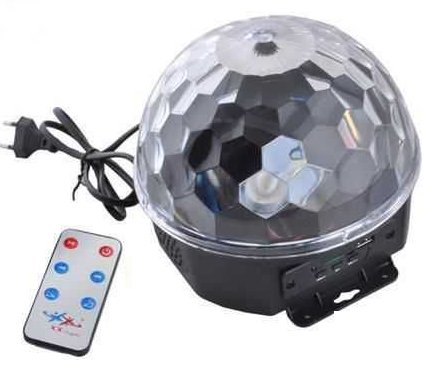 Disco LED koule s USB
